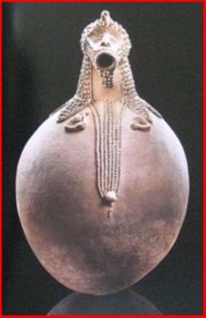 Spirit vessel Mbirhlen nda, Ga anda, Nigeria, now in Barbier-Mueller Museum, Geneva, Switzerland.