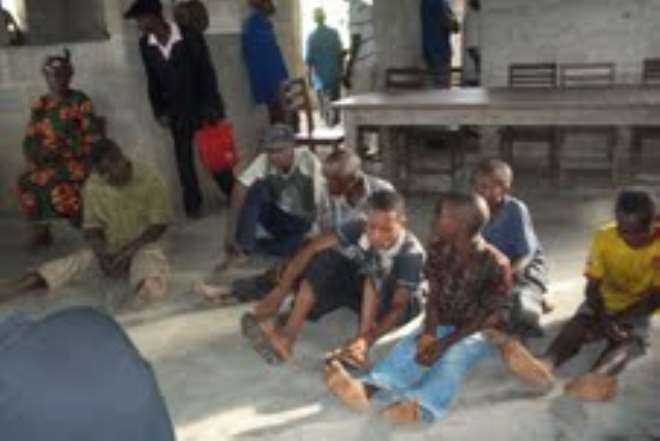 MKPAT ENIN CHILDREN, WOMEN AND MEN  WAITING FOR TORTURE AND DEATH