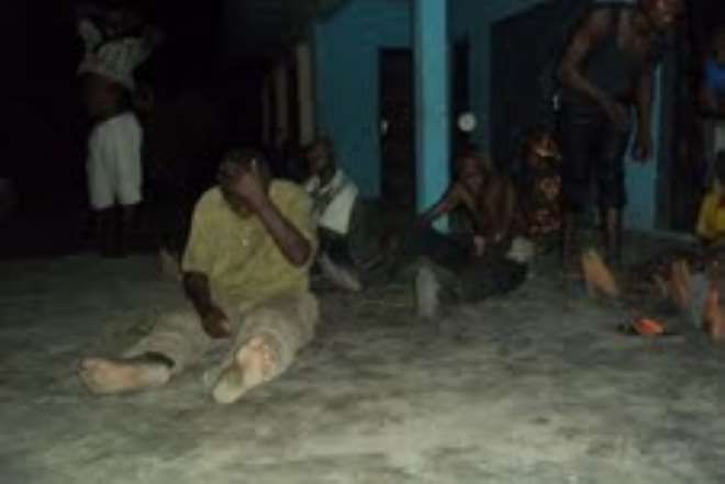 MKPAT ENIN, MEN WAITING FOR TORTURE AND DEATH.