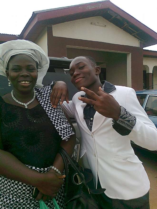 MRS EZE AND THE SON KELECHI EZE