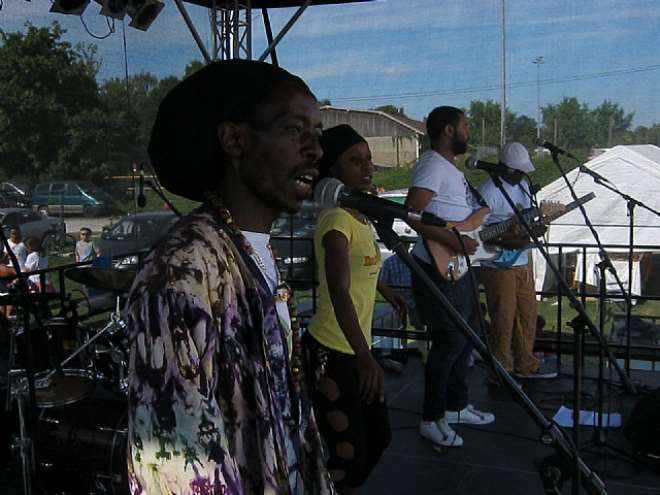 NGOMA AFRICA BAND ON TUBINGEN STAGE