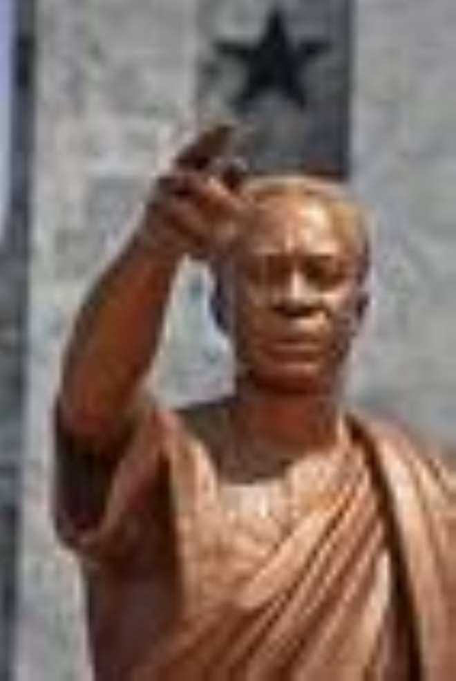 nkrumahs statue