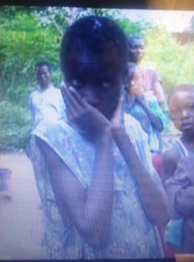 NWAEKA, 14, 6 INCH NAIL DRIVEN INTO HER HEAD