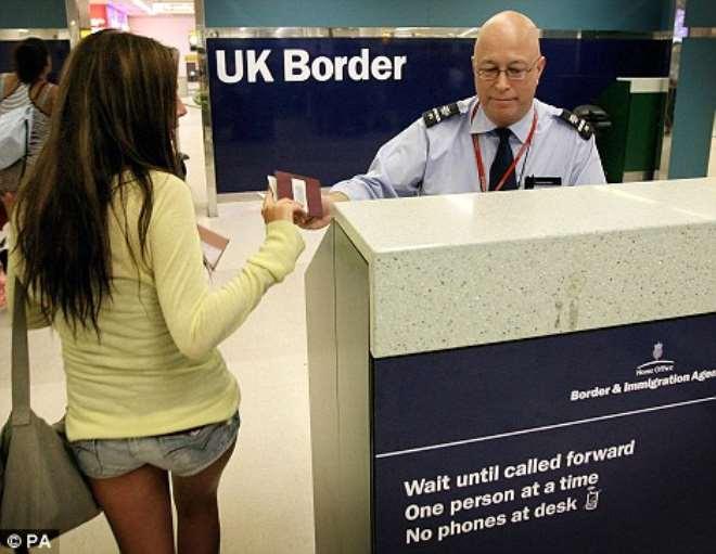 UK BORDER-