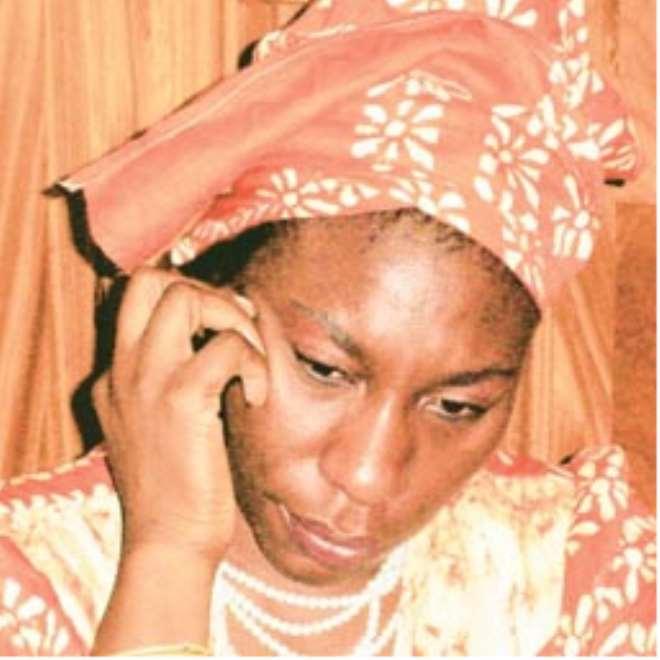 Senator Iyabo Obasanjo-Bello: first daughter of the