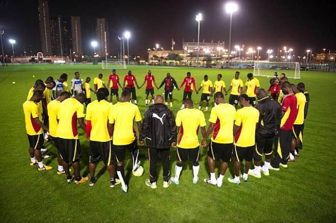 The Black Stars And Their Technical Team
