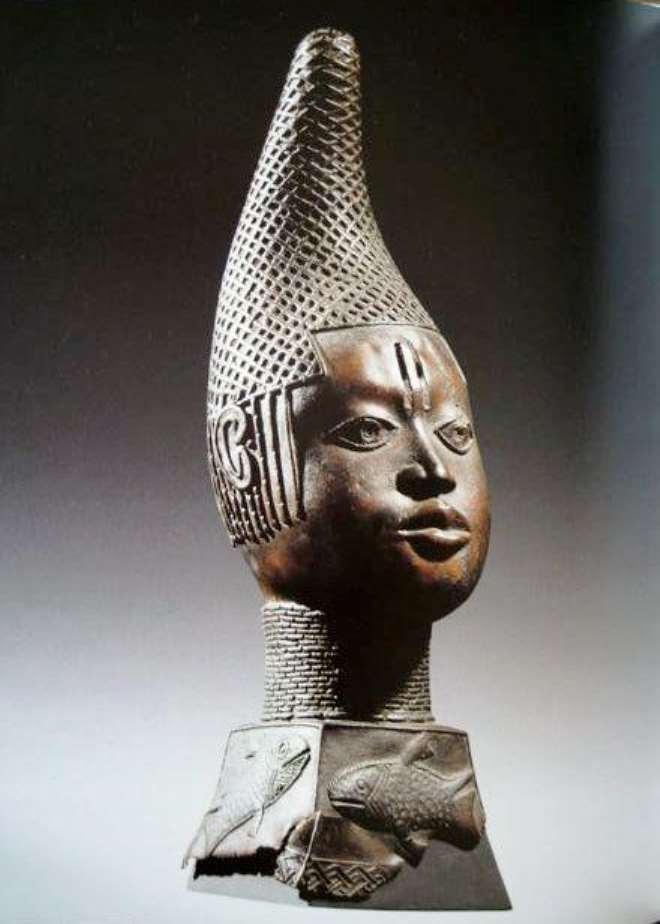 Queen-Mother Idia, Benin,  Ethnologisches Museum, Berlin, Germany.