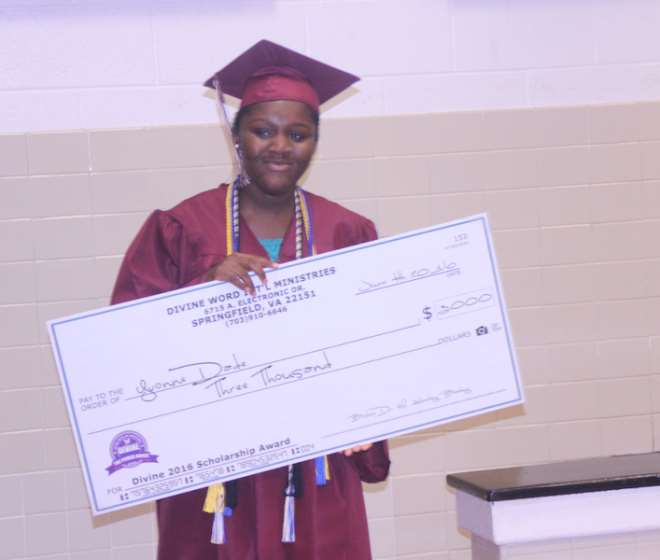 Scholarship Recipient Yvonne Dade In Photo By Afrikanpost.com
