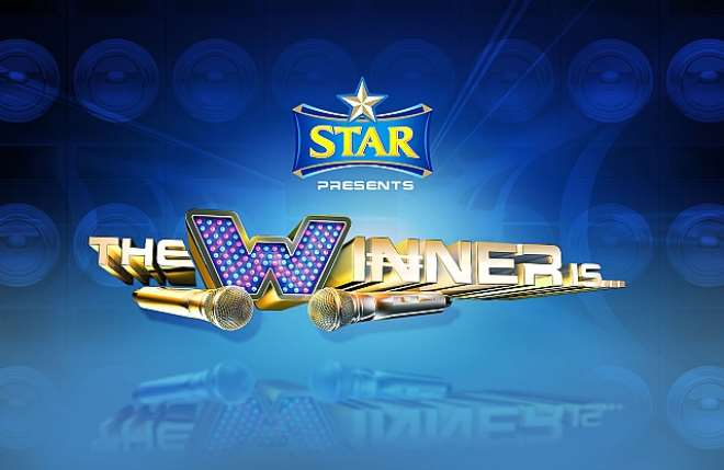 STAR THE WINNER IS LOGO