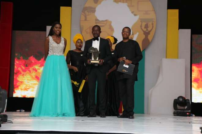 THE FUTURE AWARDS AFRICA PRIZE IN AGRICULTURE, DAVID A SIAMAH (GHANA) WINNER