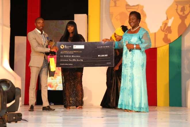 THE TONY O. ELUMELU PRIZE IN BUSINESS, SAMUEL MALING A (UGANDA) WINNER