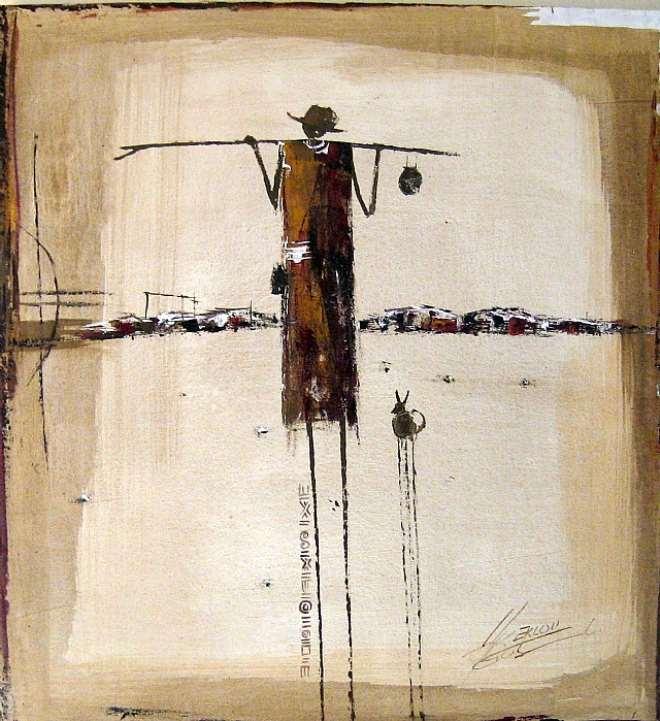 TRAVELLER, 97 X 76 CM, 2007