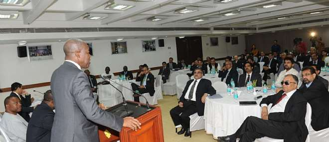 VEEP ADDRESSING CAPTAINS OF INDIAN INDUSTRY