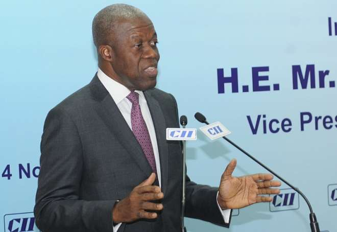 VEEP ADDRESSING CAPTAINS OF INDIAN INDUSTRY (3)A