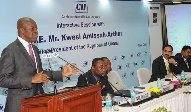 VEEP ADDRESSING CAPTAINS OF INDIAN INDUSTRY (4)