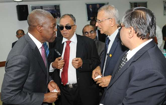 VEEP INTERACTIND WITH SOME CAPTAINS ON INDIAN INDUSTRY