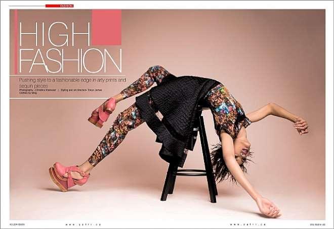 y africa fashion editoral