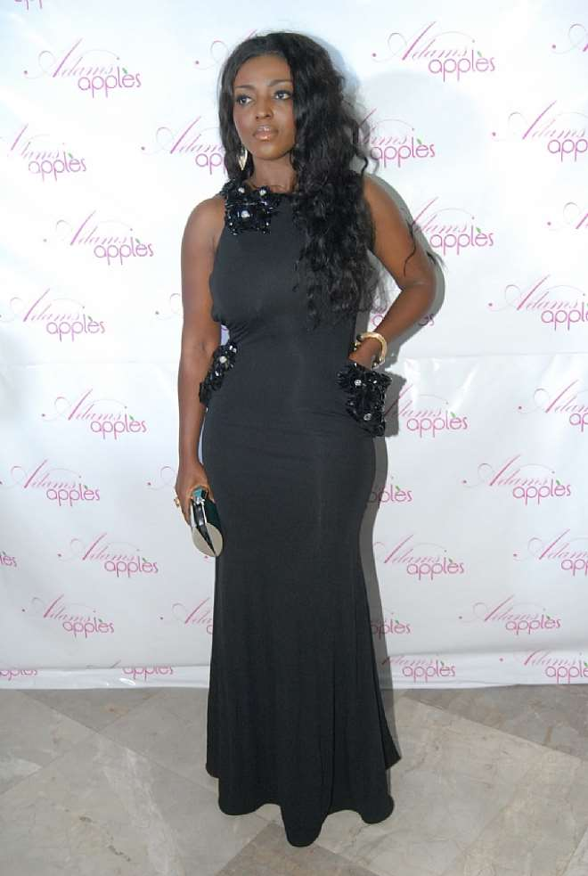 YVONNE OKORO€™S FRONT VIEW AT ADAMS APPLES PREMIERE  1