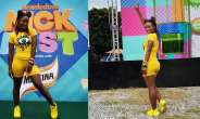 Folu Storms Makes Bold Fashion Statements At Nickfest: Explores The Rainbow