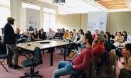 Social Entrepreneur Makafui Awuku Speaks To Brighton University Students On Waste Management