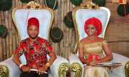 Colourful Traditional Wedding Photos  Of Ex-Beauty Queen Ijeoma Okafor And Her Pastor Husband