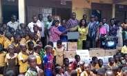 Catherine Afeku empowers school children with ICT skills