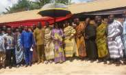 Birim Central MCE Cuts Sod For The Construction Of CHPS Compound In Oda Nkwanta