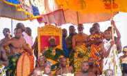 MTN Fully Represented at Okyehene's 20th Anniversary with GH¢100K Donation
