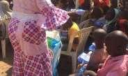 Tatafonaija CEO, Kalada Balema Feeds 1100 Children At IDP Camp In Abuja