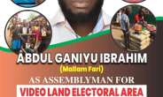 I'm The Best Candidate For Videoland Electoral Area — Barrister Mallam Fari