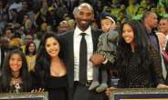 Kobe Bryant with wife and daughters
