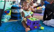 One year and seven months old Child in the only children's Hospital in Southern Sudan.