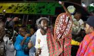 Beautiful Sights & Sounds As Buju BantonLands In Kenya