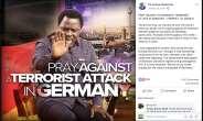 TB Joshua Predicted German Terror Attack On Facebook