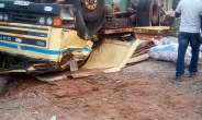 Tarkwa: 2 Injured As Truck Overturns, Others Trapped