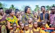 Fantekrom Gets Six Unit Classroom Block As Barbara Oteng-Gyasi Cuts Sod For Constructon