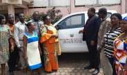 Obuasi MCE Hands Over Brand New Pickup To The Education Directorate