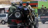 Police Officers Are Seen In The Streets Of Lusaka, Zambia, On January 15, 2018. Zambia Recently Cancelled The License Of The Prime TV Broadcaster And Police Shuttered Its Office--(AFP/Dawood Salim)