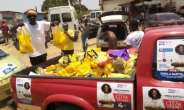COVID 19: NPP Aspirant Sheila Bartels Donates To Ablekuma North Party Faithfuls