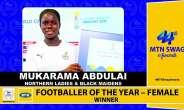 SWAG AWARDS: Mukarama Abdulai Adjudged Women Footballer Of The Year