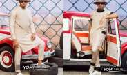 Pretty Mike stuns in Yomi Causal's latest Collection
