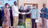 Toende Rural Bank supports Zebilla District health directorate with health equipment*