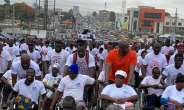 Herbert Mensah leads thousands to walk for victims of May 9 disaster