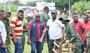 Ho Rotary Club, Forestry Commission Plant 950 Trees
