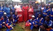 Family Donates To Apedwa Community To Improve Sanitation