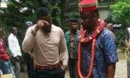 Nollywood Actors, Zubby Michael, Emeka Enyiocha 'Fight' Dirty on Set (photos)