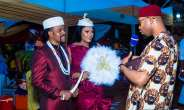 Anambra Governor, Churchill, Johnbosco, Don Okonkwo,Canadian Philanthropist, Rosaline Meurer Attend Alexreports Wedding
