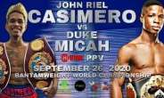 Friends of Boxing Wish Duke Micah Success on September 26