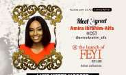 Amira Ibrahim Alfa Unveiled as the Host for LuxuryByFeyi Clothing Line