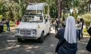 Francis will use the popemobile for greeting the public in Antananarivo, the capital. A majority of Madagascar's 26 million people are Catholic.  By RIJASOLO (AFP)